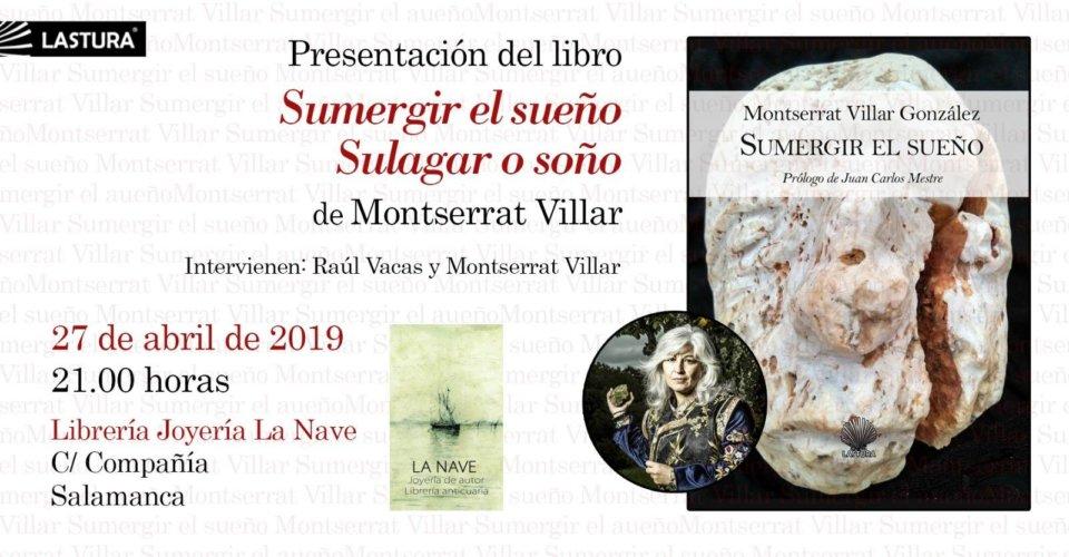 La Nave Montserrat Villar Salamanca Abril 2019