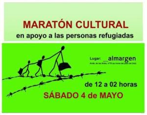 Espacio Almargen Maratón Cultural Salamanca Mayo 2019