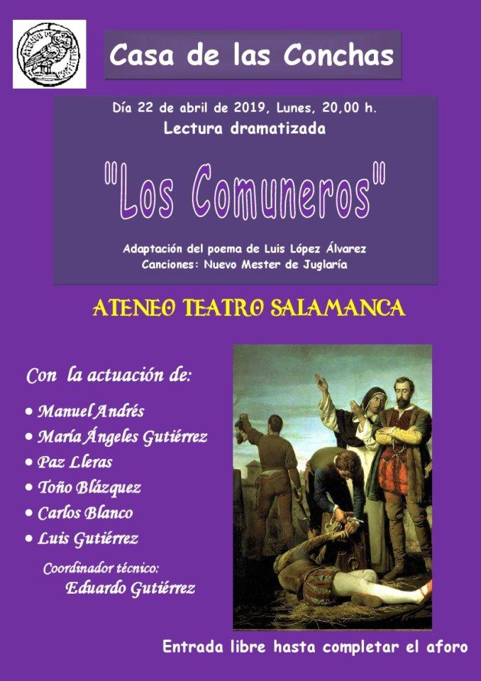 Casa de las Conchas Los Comuneros Salamanca Abril 2019