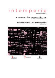Casa de las Conchas Intemperie Salamanca Marzo abril mayo 2019