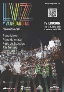 Salamanca IV Festival de Luz y Vanguardias Junio 2019