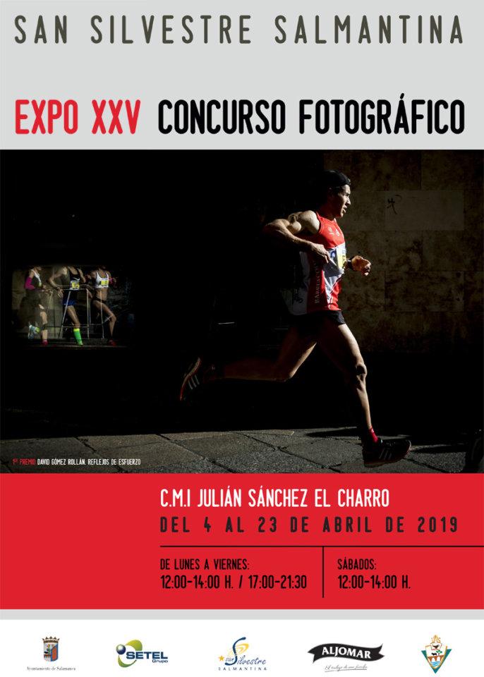 Julián Sánchez El Charro XXV Concurso Fotográfico San Silvestre Salmantina Salamanca Abril 2019