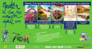 Cines Van Dyck Tormes Maratón de Cine de Animación Infantil Santa Marta de Tormes Abril 2109
