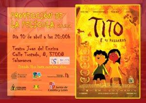 Aula Teatro Juan del Enzina Tito y los pájaros Salamanca Abril 2019