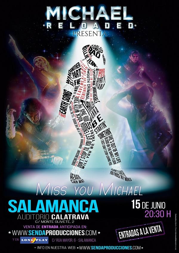 Auditorio Calatrava Michael Reloaded Salamanca Junio 2019