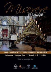 Catedral Vieja Miserere de Doyagüe Salamanca Abril 2019