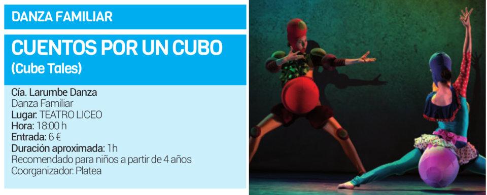 Teatro Liceo Larumbe Danza Salamanca Abril 2019