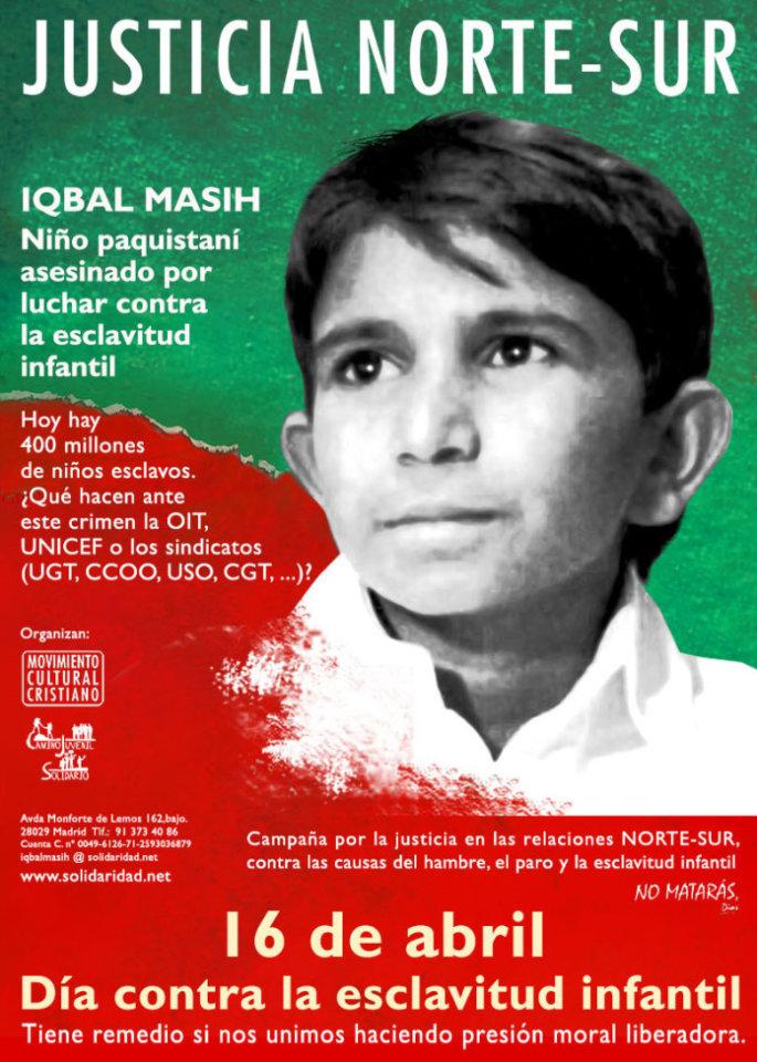 Hospedería Fonseca Día Mundial contra la Esclavitud Infantil Salamanca Abril 2019