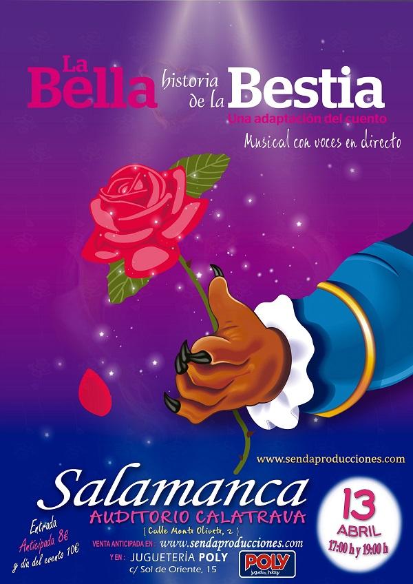 Auditorio Calatrava La bella historia de la Bestia Salamanca Abril 2019