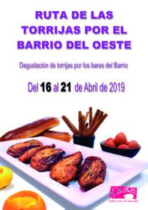 Salamanca IV Ruta de las Torrijas por el Barrio del Oeste Abril 2109