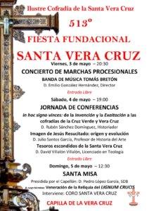 Capilla de la Vera Cruz 513 Fiesta Fundacional Salamanca Mayo 2019