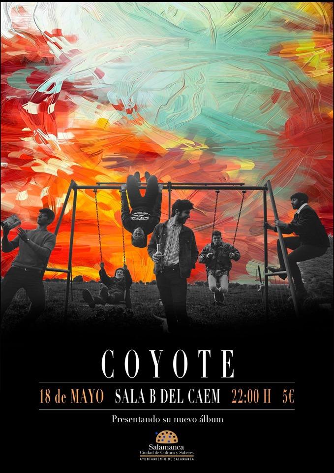 Centro de las Artes Escénicas y de la Música CAEM Coyote Conciertos Sala B Salamanca Mayo 2019