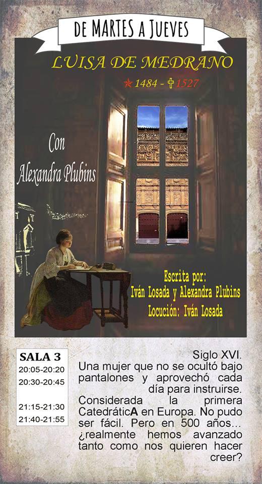 La Malhablada Luisa de Medrano Salamanca Mayo 2019