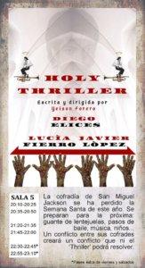La Malhablada Holy thriller Salamanca Mayo 2019
