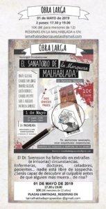 La Malhablada El sanatorio de la marquesa Malhablada Salamanca 1 de mayo de 2019