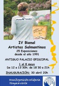 Palacio Episcopal IV Bienal de Artistas Salmantinos Salamanca Mayo 2019
