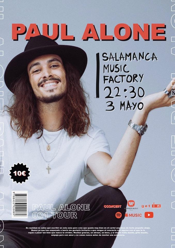 Music Factory Paul Alone Salamanca Mayo 2019