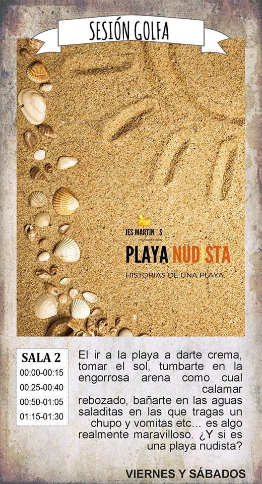 La Malhablada Playa nudista Sesión Golfa Salamanca Mayo 2019