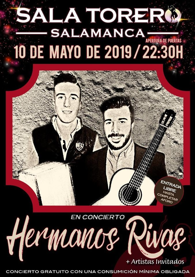 Sala Torero Hermanos Rivas Salamanca Mayo 2019