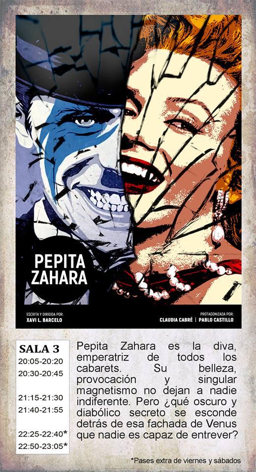 La Malhablada Pepita Zahara Salamanca Mayo 2019