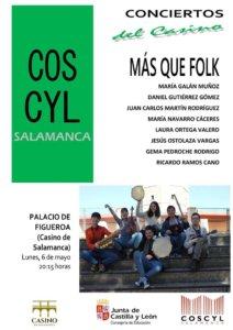 Casino de Salamanca Más que Folk Mayo 2019