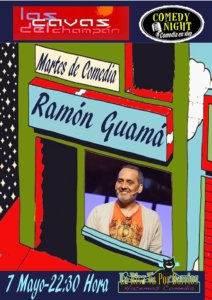 Las Cavas del Champán Ramón Guamá Comedy Night Salamanca Mayo 2019