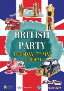 The Irish Theatre British Party Salamanca Mayo 2019