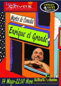 Las Cavas del Champán Enrique El Grande Comedy Night Salamanca Mayo 2019