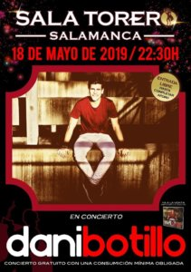 Sala Torero Dani Botillo Salamanca Mayo 2019