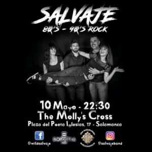 The Molly's Cross Salvaje Salamanca Mayo 2019