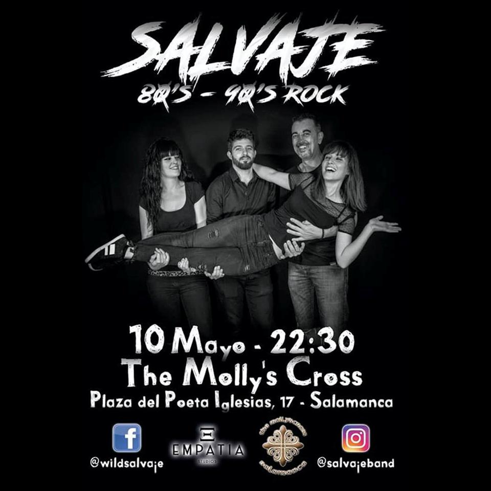 The Molly's Cross Salvaje Salamanca Mayo 2019