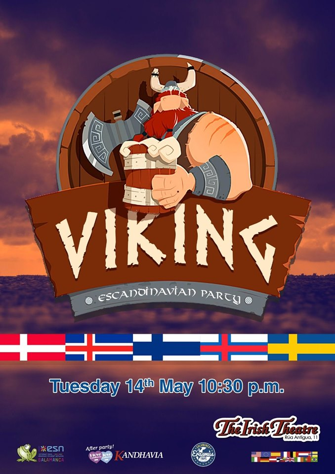 The Irish Theatre Viking Party Salamanca Mayo 2019