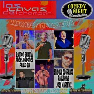 Las Cavas del Champán Maratón de Comedia Comedy Night Salamanca Mayo 2019