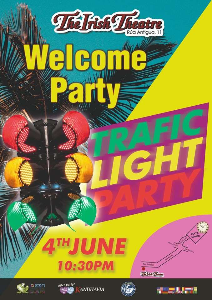 The Irish Theatre Traffic Light Party Salamanca Junio 2019