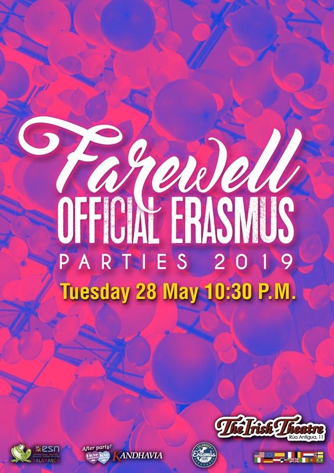 The Irish Theatre Farewell Party Salamanca Mayo 2019
