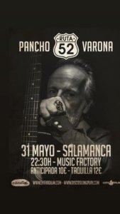 Music Factory Pancho Varona Salamanca Mayo 2019