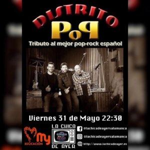 La Chica de Ayer Distrito Pop Salamanca Mayo 2019