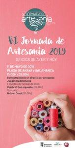 Plaza de Anaya VI Jornada de Artesanía Salamanca Mayo 2019