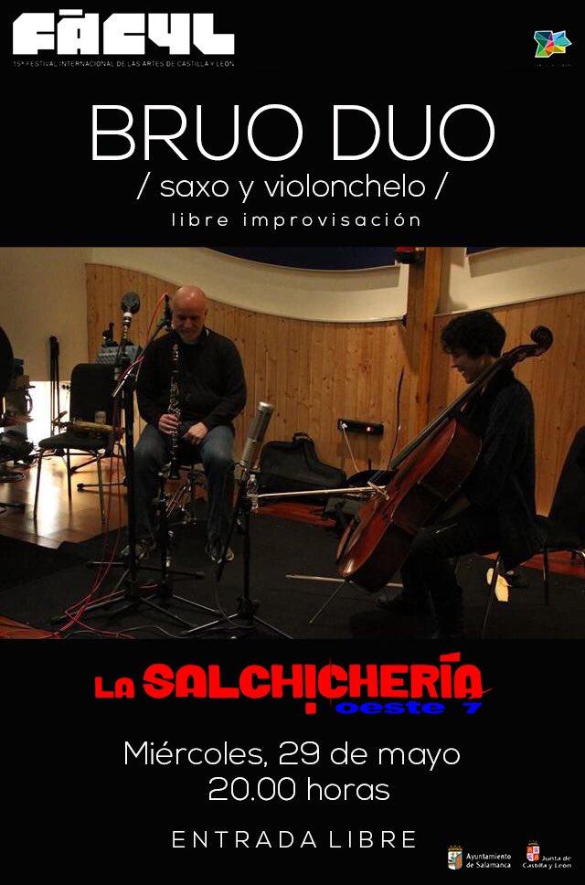 XV Festival Internacional de las Artes de Castilla y León FÀCYL Brúo Dúo Salamanca Mayo 2019