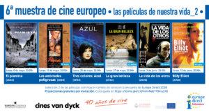 Cines Van Dyck VI Muestra de Cine Europeo Salamanca Mayo junio 2019