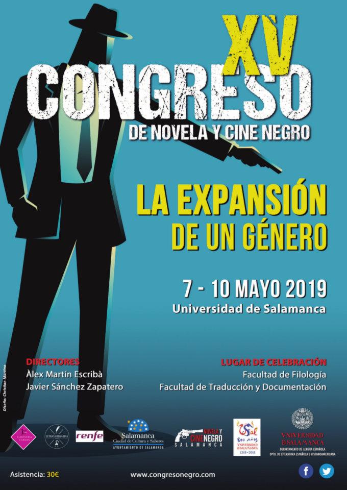 Salamanca XV Congreso de Novela y Cine Negro Mayo 2019