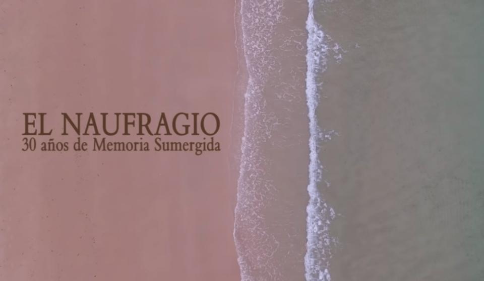 Filmoteca de Castilla y León El naufragio. 30 años de memoria sumergida Salamanca Mayo 2019