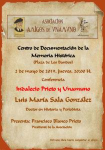 Centro Documental de la Memoria Histórica CDMH Luis María Sala González Salamanca Mayo 2019