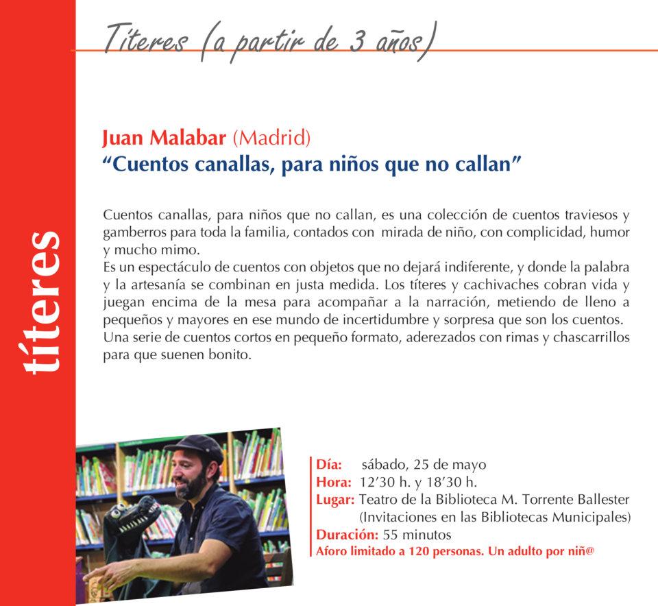 Torrente Ballester Juan Malabar Salamanca Mayo 2019