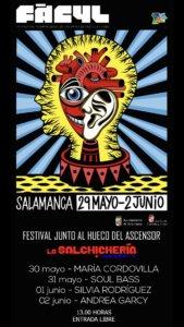XV Festival Internacional de las Artes de Castilla y León FÀCYL Festival Junto al Hueco del Ascensor Salamanca Mayo junio 2019