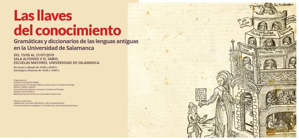 Escuelas Mayores Las llaves del conocimiento Salamanca 2019