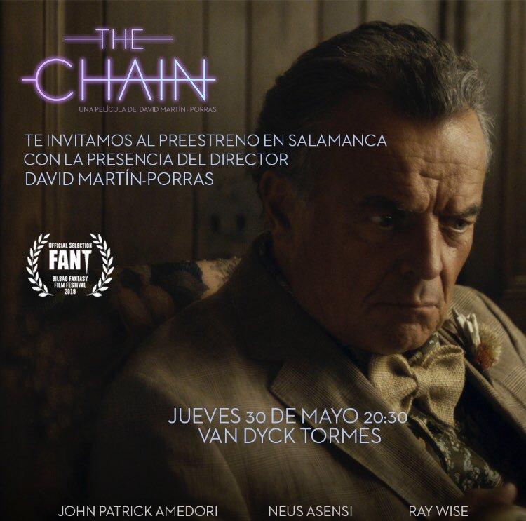 Cines Van Dyck The chain Salamanca Mayo 2019