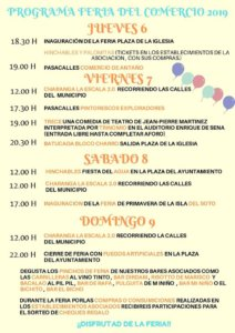 Santa Marta de Tormes II Jornadas de Apoyo al Comercio Junio 2019