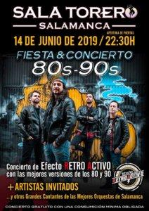 Sala Torero Efecto Retroactivo Salamanca Junio 2019