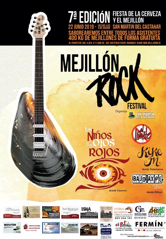 San Martín del Castañar VII Mejillón Rock Festival Junio 2019